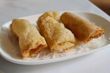 Fried Bean Curd Skin Rolls With Shrimp