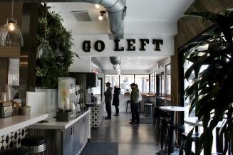 Go Left. Eat Right.